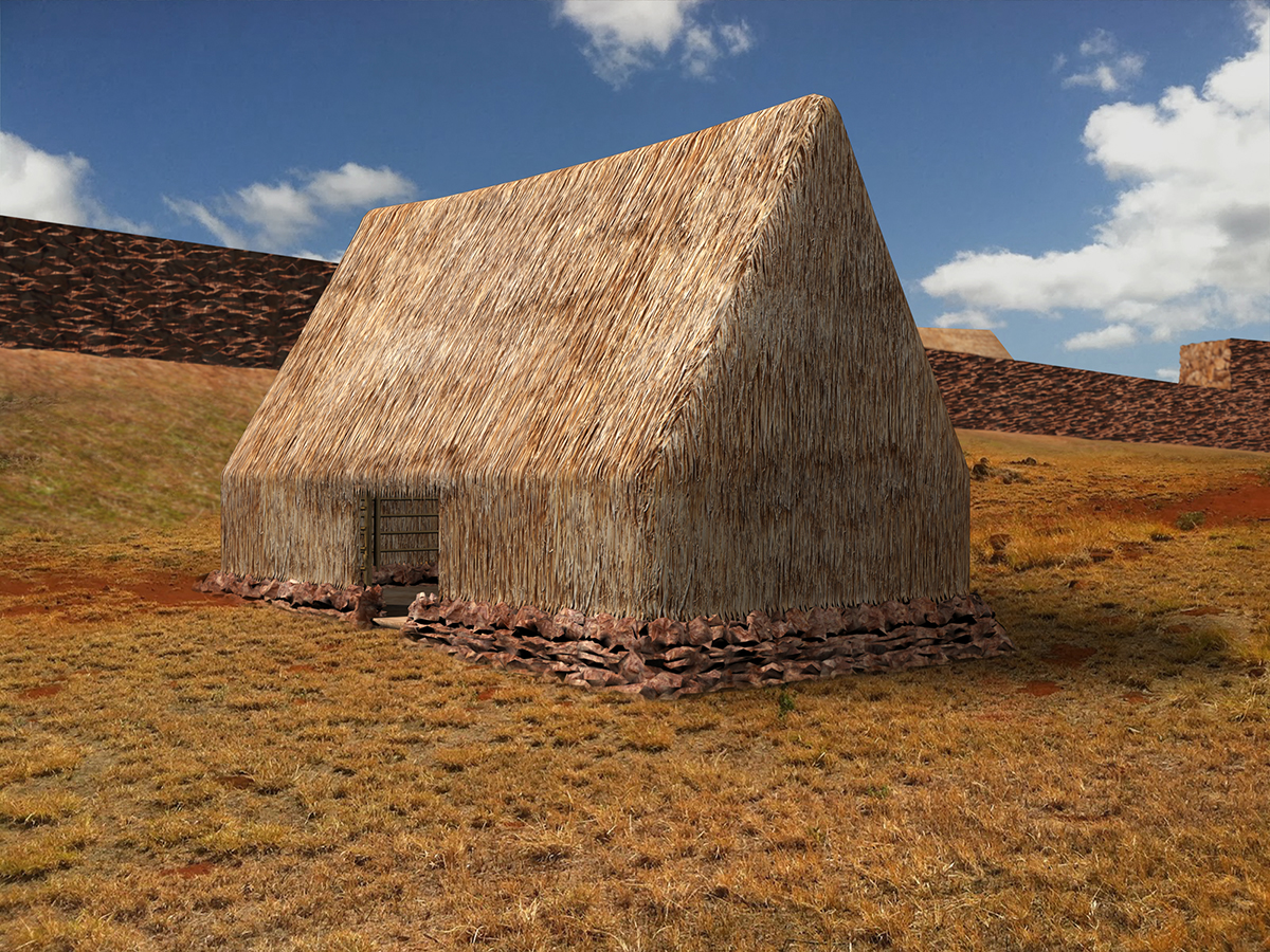 Figure 13. Hawaiian commondant's house