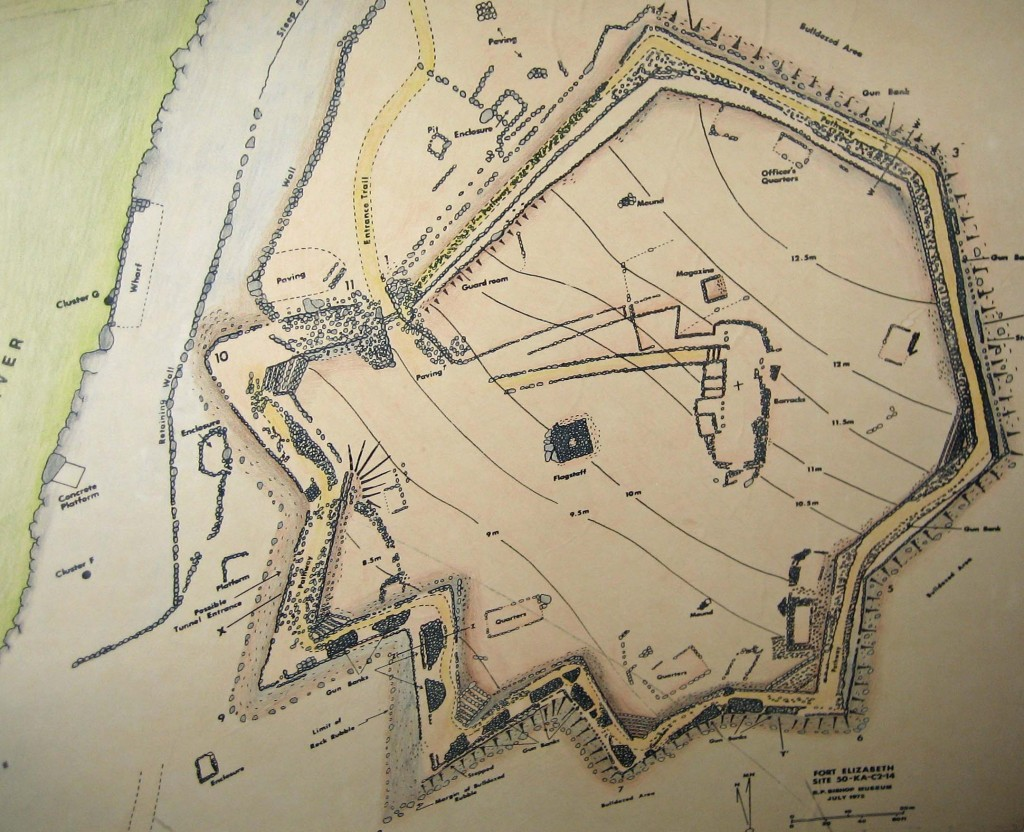 Figure 5. Plan of the fortress according to McCoy 1972